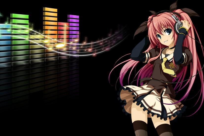 Anime Music Girl Headphones Cartoon Girls 23244wall.jpg