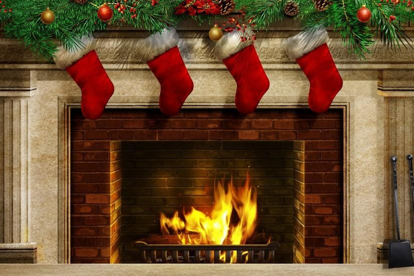 beautiful beauty christmas christmas balls christmas stockings colorful  colors cool fire fireplace happy new year holiday