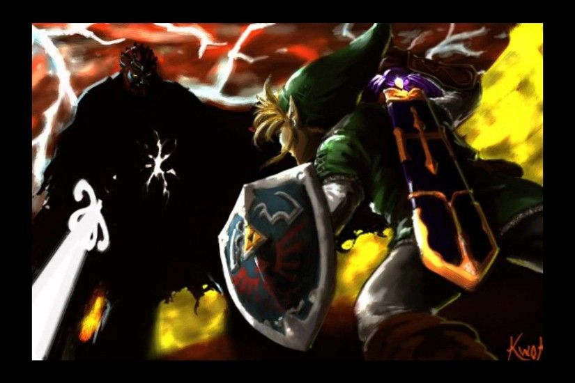 [The Legend of Zelda Twilight Princess] Final Boss Dark Lord Ganondorf  -SwordFight-