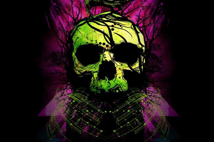Dark Skull. Wallpaper 422686