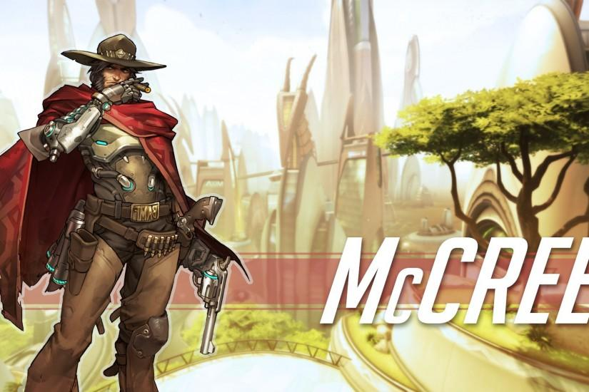 amazing mccree wallpaper 1920x1080