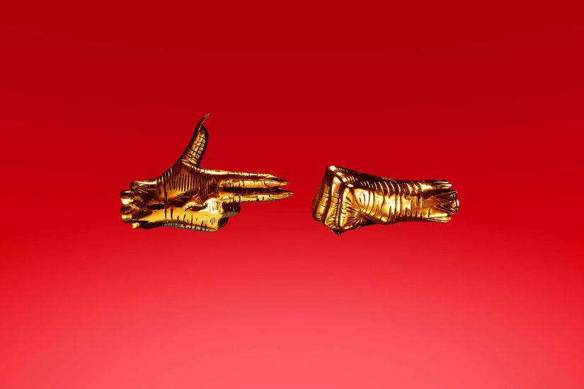 Run The Jewels 3 - Red - Alternate