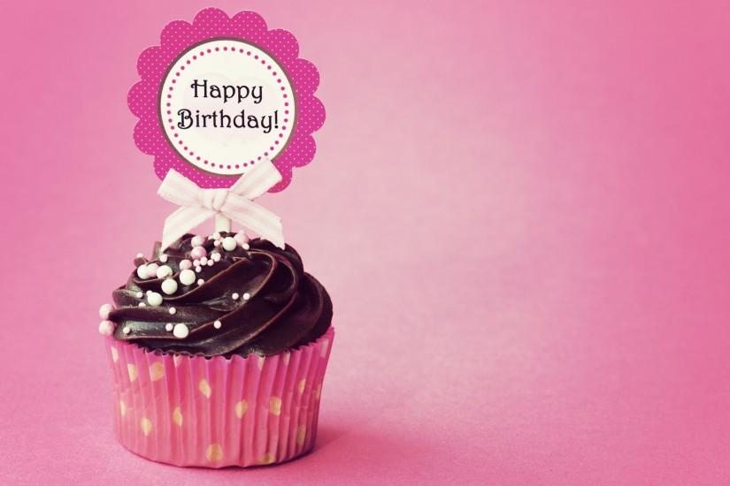 Birthday Cupcake Wallpapers Free with High Definition Wallpaper