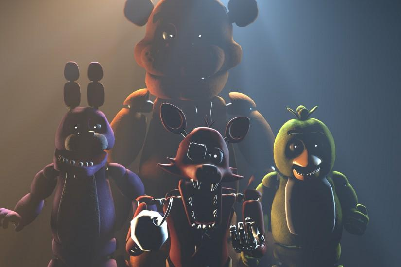 best five nights at freddys wallpaper 3200x1800
