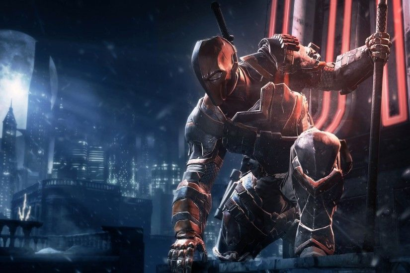 Deathstroke Desktop Wallpaper