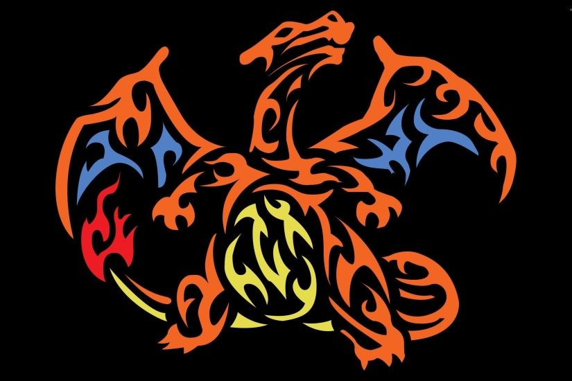 Tribal Charizard - Pokemon wallpaper