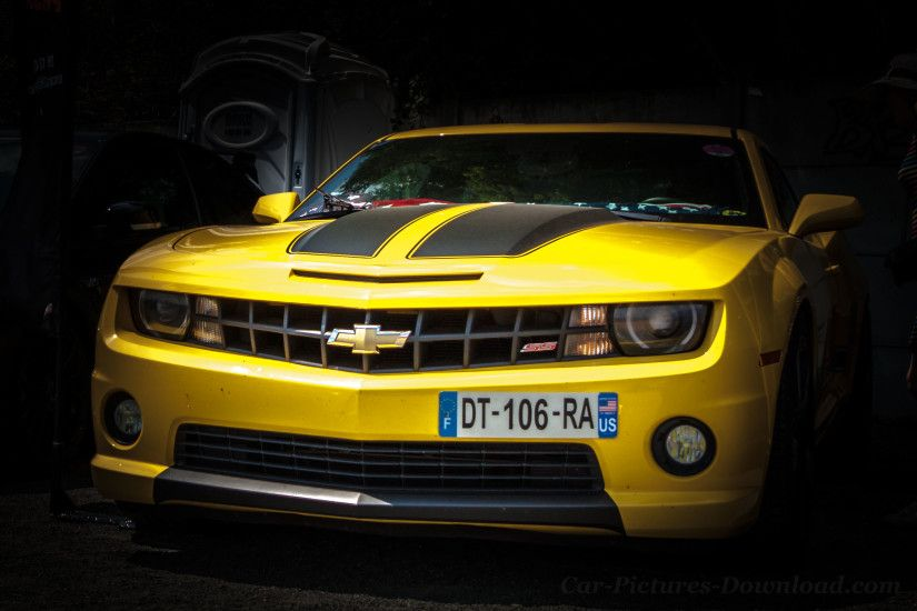 Chevy Camaro muscle car wallpaper HD to free download in high resolution