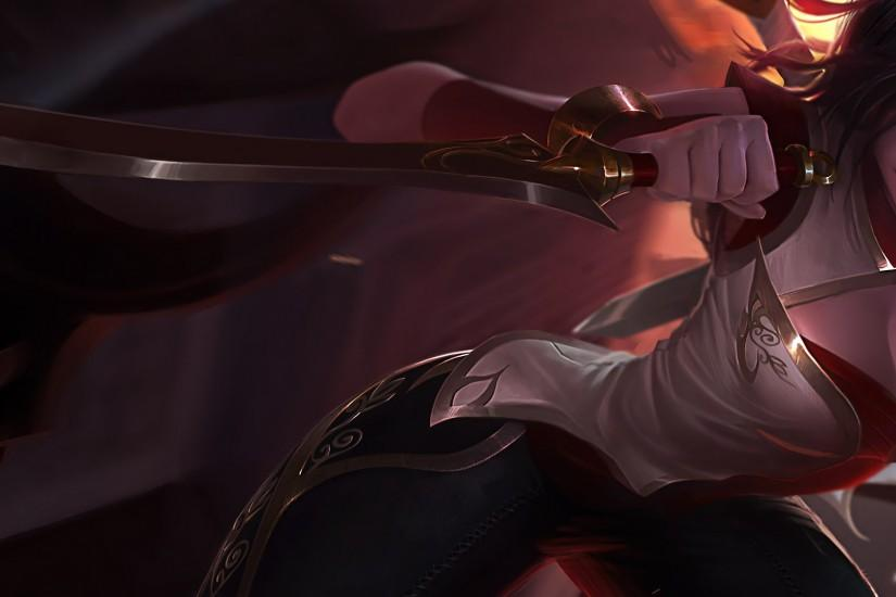 Warring Kingdoms Katarina Splash Art League of Legends Artwork Wallpaper lol