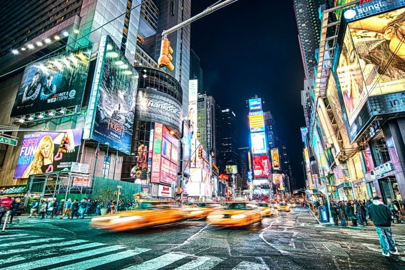 New night picture from Theater District in Times Square, New York was took  by talented photographer - John Chandler - and shared by his courtesy here  for ...