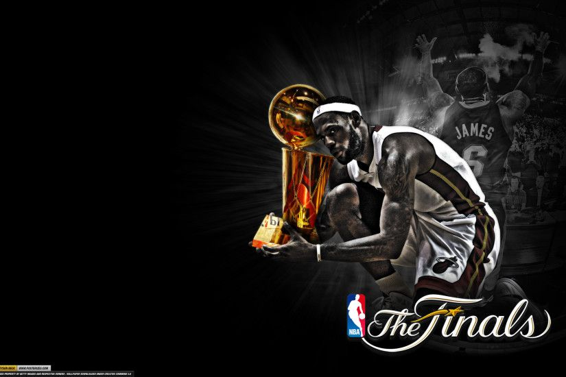 Wallpaper: LeBron James – 'Trophy Hunting'