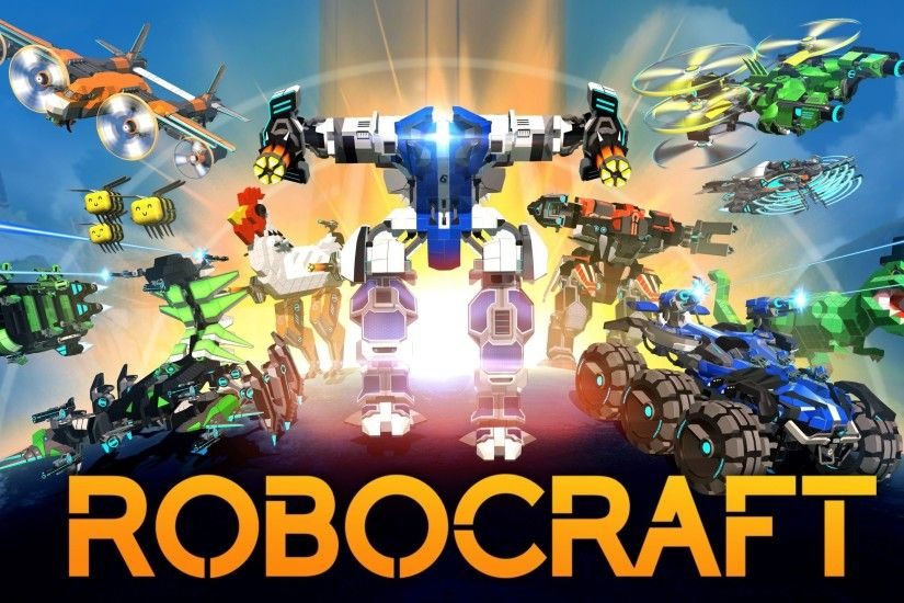 Download 2560x1440 Robocraft, Mech Wallpapers for iMac 27 inch .