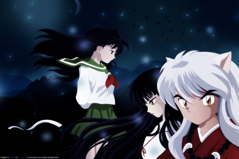 1920x1080 widescreen backgrounds inuyasha