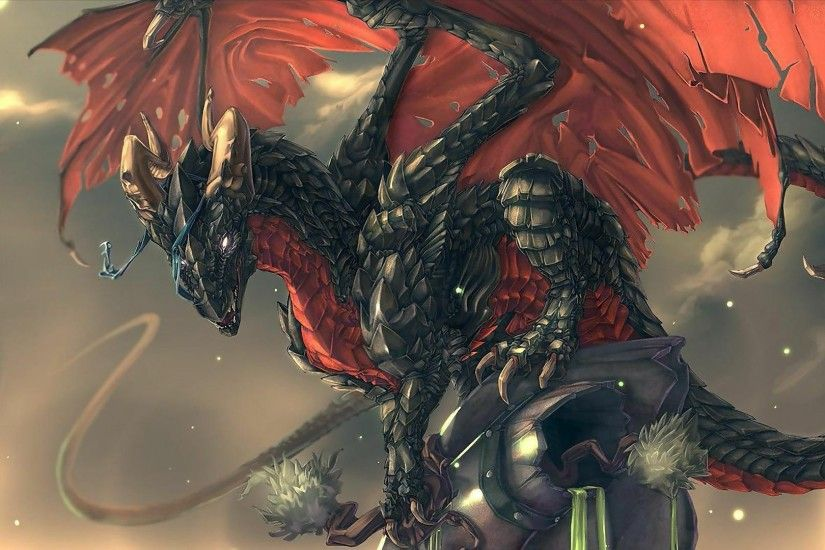 black red dragon new wallpapers