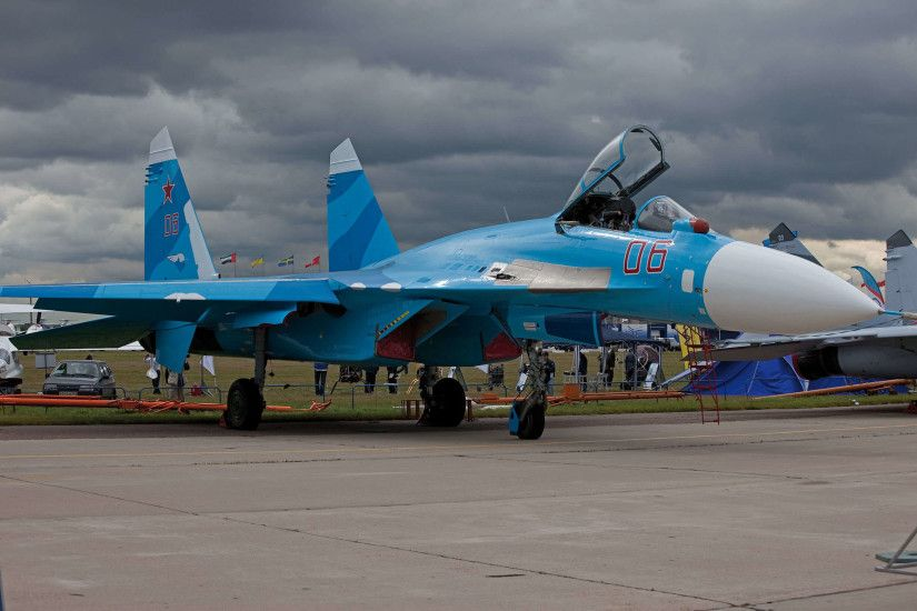 Wallpapers Sukhoi Su-27 Fighter Airplane Airplane Aviation Fighter aircraft