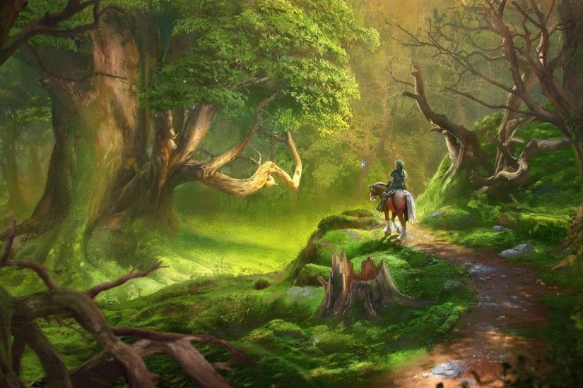 Link, Video Games, The Legend Of Zelda, Forest Wallpapers HD / Desktop and  Mobile Backgrounds