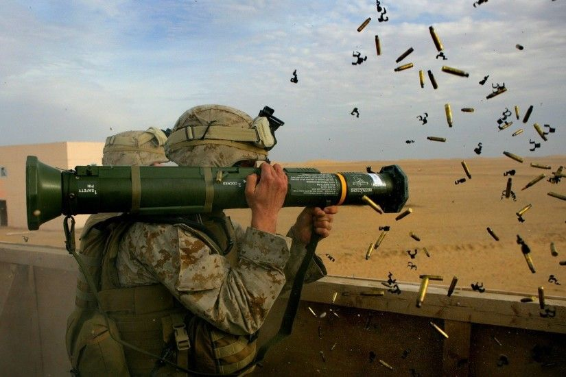 Soldiers Army Combat Marines Rocket Launcher Marine Corps Wallpaper