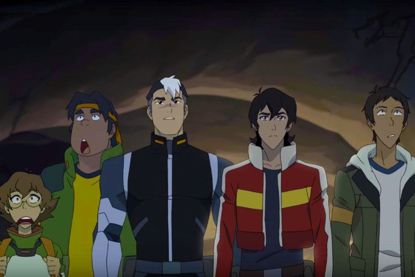 The Future Voltron Legendary Defender Team- Shiro, Keith, Lance, Hunk and  Pidge