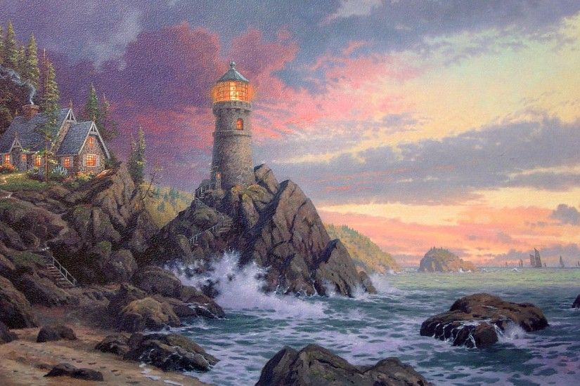 ... lighthouse desktop images ...