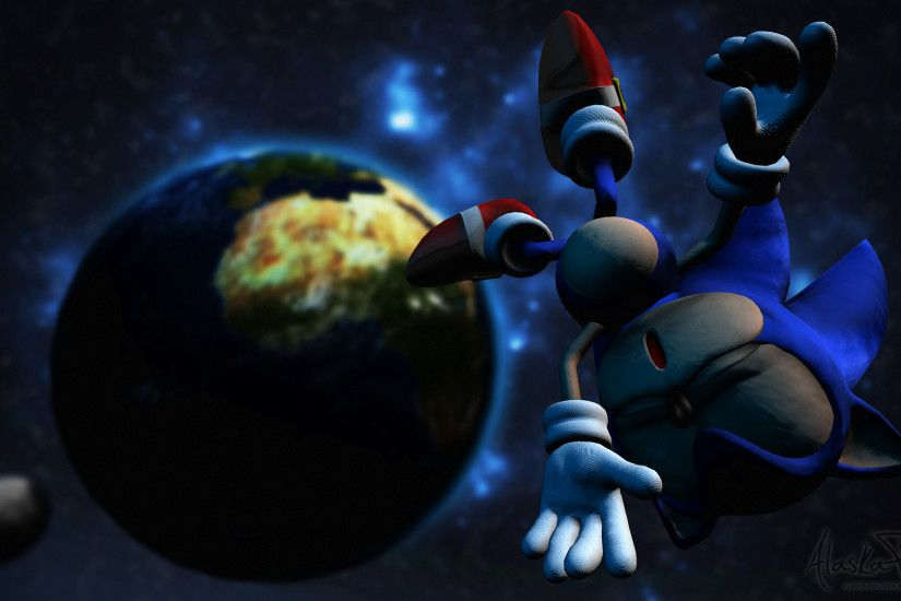 ... Sonic the Hedgehog - Lost in Space by Alaska-Pollock