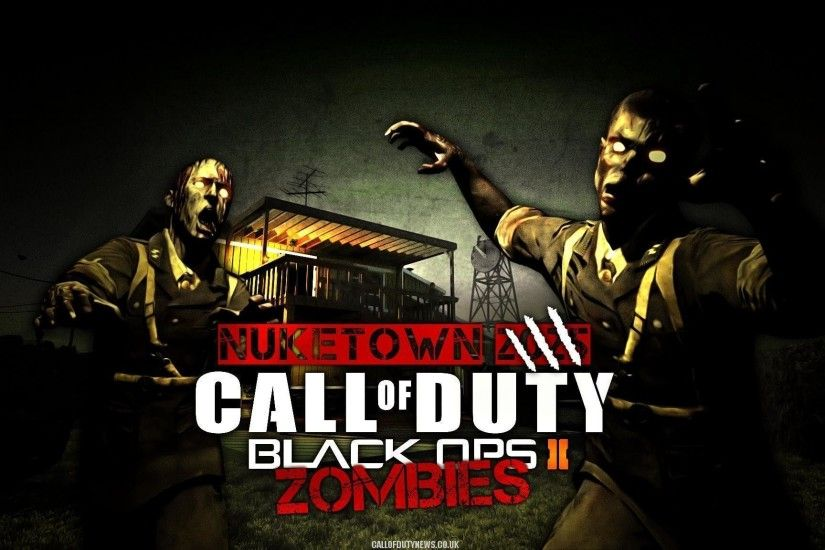 Call of Duty Black Ops 2 Zombie Exclusive HD Wallpapers #