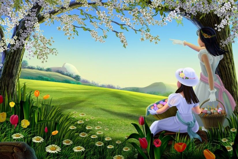 Attractive-hd-best-free-spring-season-wallpaper