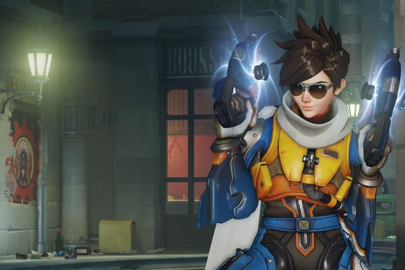 overwatch tracer wallpaper 2560x1600 tablet