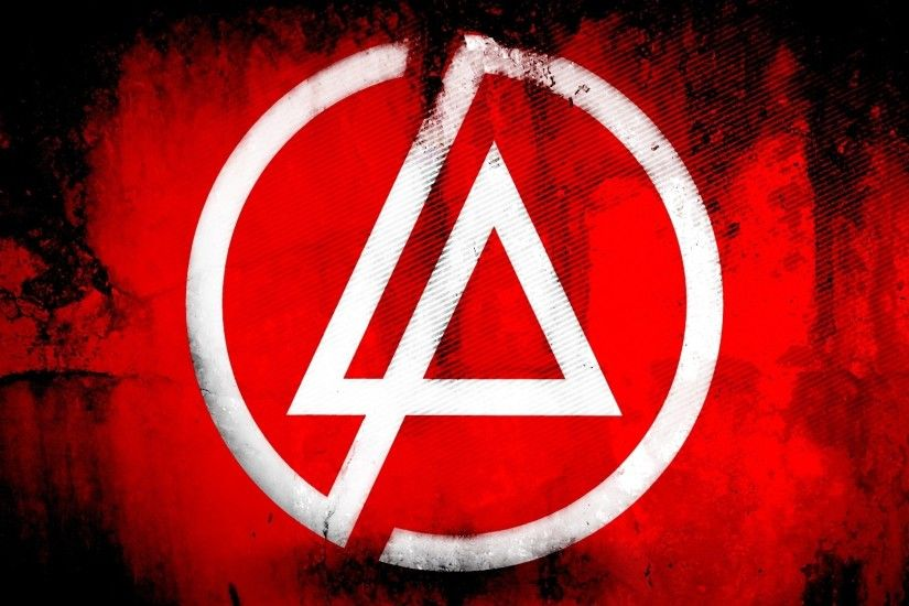 Preview wallpaper linkin park, symbol, background, triangle, circle  1920x1080