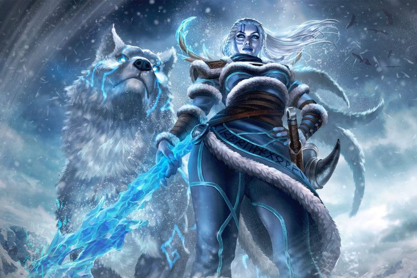 Skadi SMITE Official Wallpaper