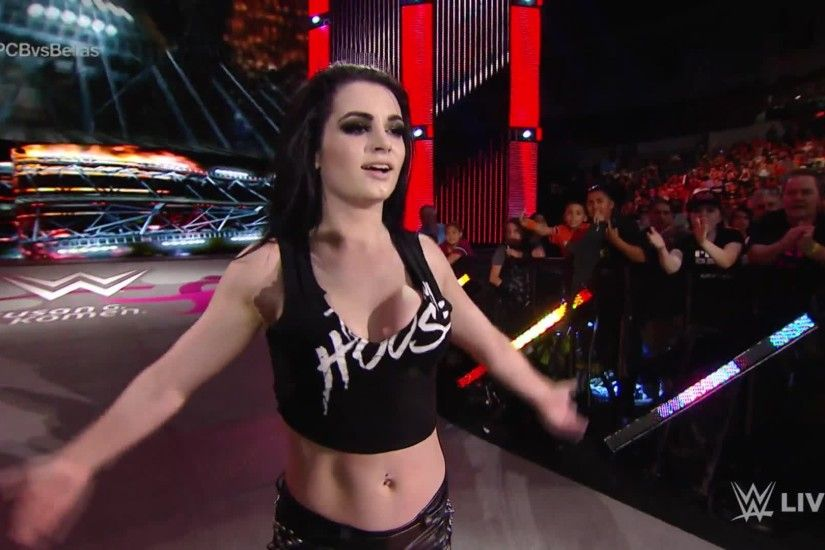 Paige assaulted fellow Team PCB members, Charlotte and Becky Lynch, after  the trio lost to Team Bella on Monday Night Raw.
