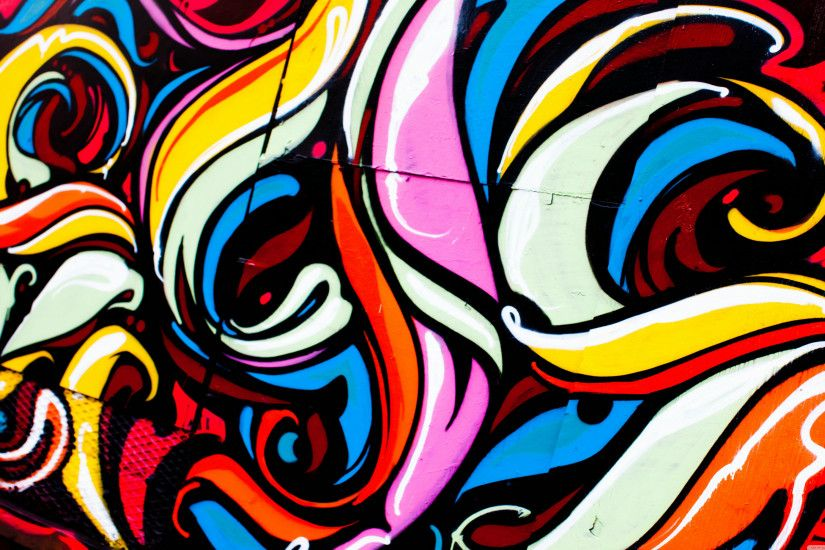 Graffiti Art Music Wallpaper Wide