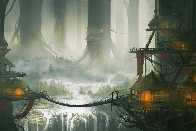 ... fantasy forest landscape wallpapers high definition and wallpapers full  hd on fantasy category similar with anime