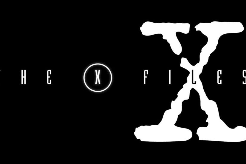 The X Files TV logo 1920x1080 wallpaper