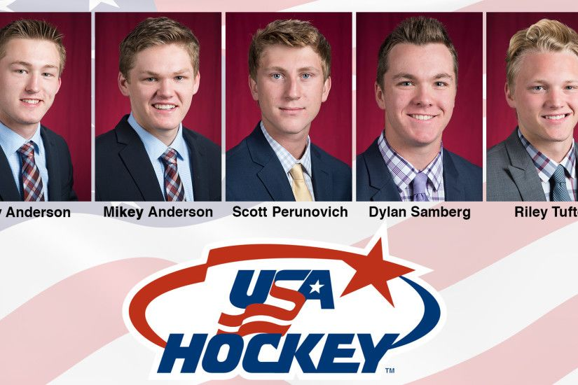 SCHOOL-RECORD FIVE BULLDOGS TO SKATE FOR TEAM USA AT 2018 IIHF WORLD JUNIOR  CHAMPIONSHOPS
