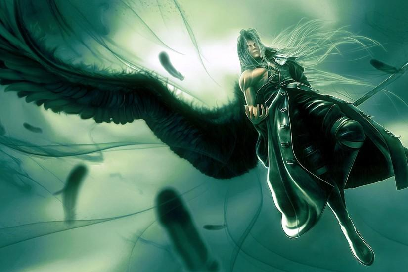 Sephiroth Wallpapers 0 HTML code. The Final Fantasy games have a long  tradition of memorable villains .