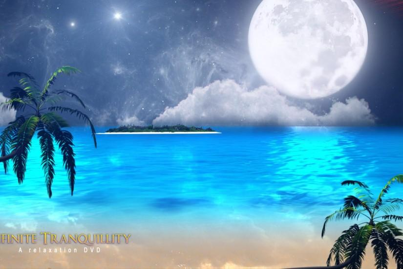relaxing wallpaper 01 - Beach ocean.