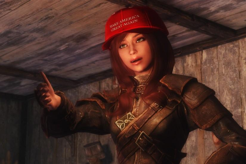 MAKE AMERICA AND SKYRIM GREAT AGAIN!