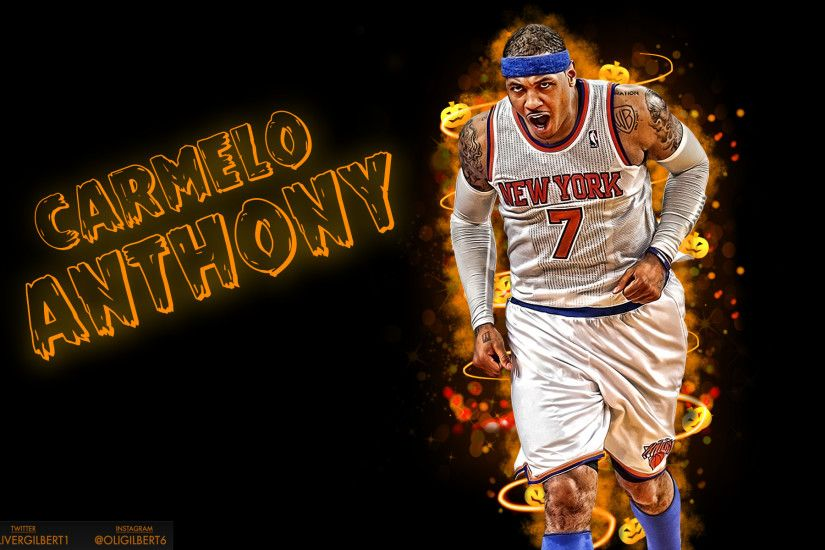 Carmelo Anthony Halloween Wallpaper by Hecziaa Carmelo Anthony Halloween  Wallpaper by Hecziaa