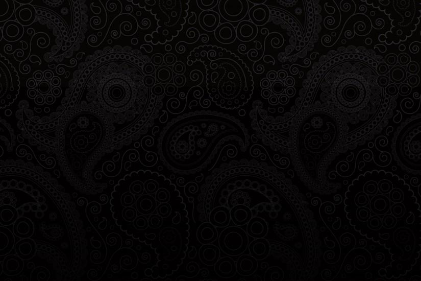 Black Paisley HD Wallpapers Free Download.
