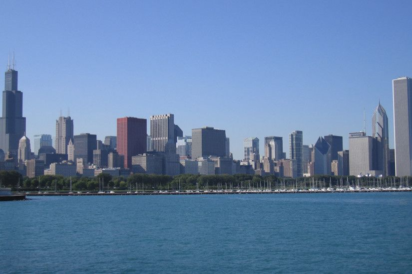 Chicago City Skyline HD Wallpaper