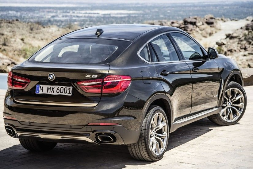 Wallpaper 2: BMW X6 2015. Ultra HD 4K 3840x2160