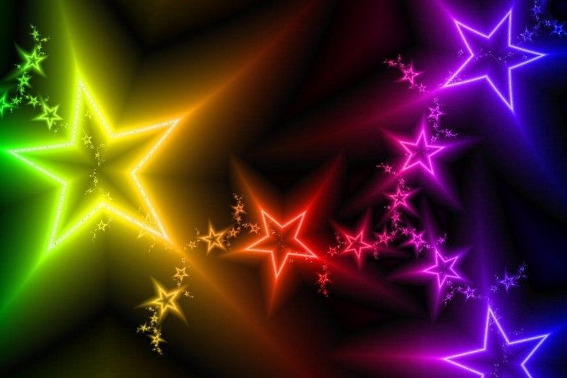 stars, rainbow colors x 1080 px] - Abstract - Pictures and wallpapers