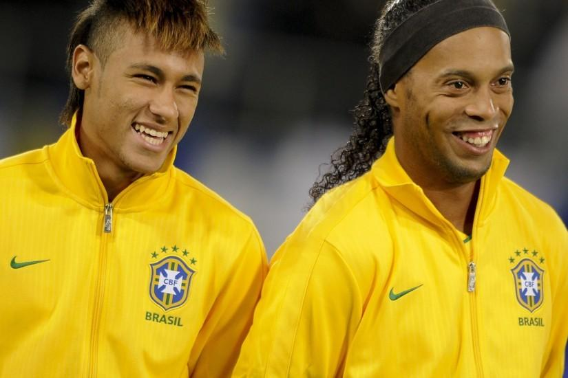 Brazilian neymar jr ronaldinho soccer wallpapers.