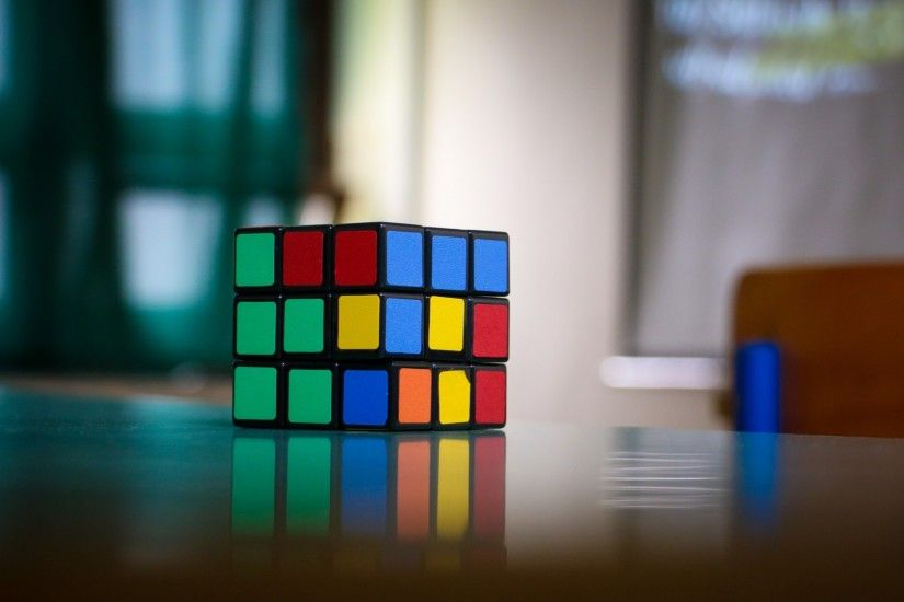 Preview wallpaper rubiks cube, puzzle, multi-colored 1920x1080