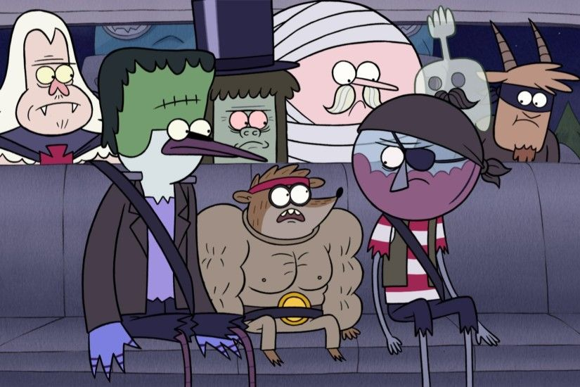 HD Widescreen Wallpapers - regular show backround by Rollo Gordon  (2017-03-27)