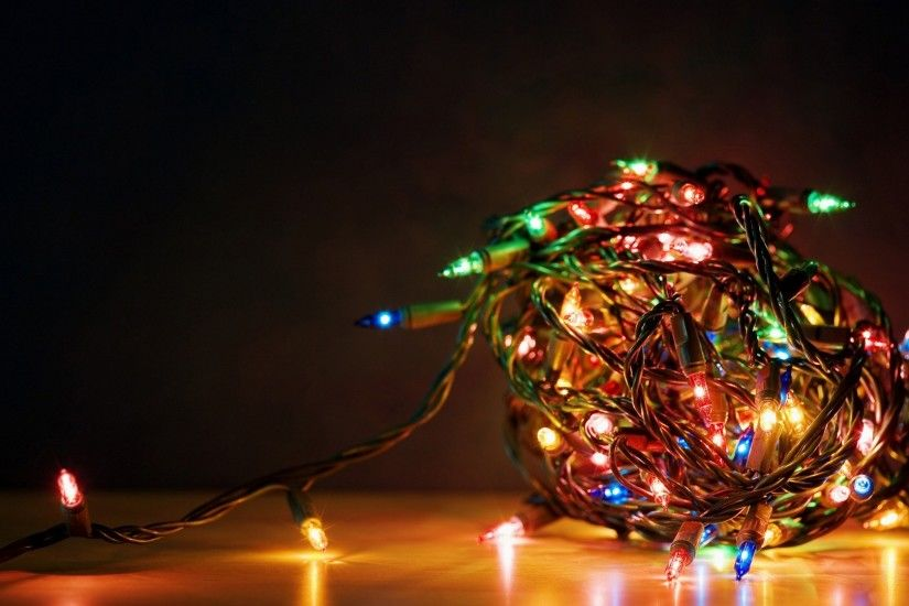 Christmas Lights. Colorful Christmas Lights Wallpaper