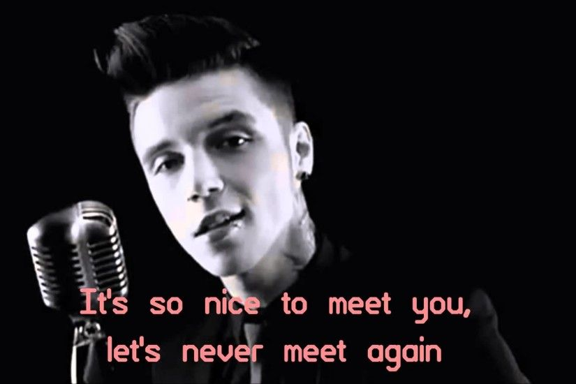 Andy Black - We Don't Have To Dance (lyrics)