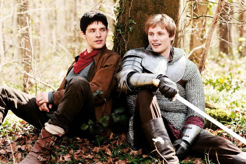 Arthur and Merlin ...