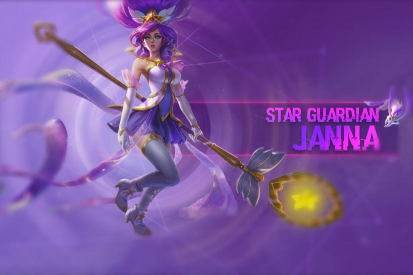ArtStation - Star Guardian Skins Poppy/ Janna/ Jinx - League of Legends -  Wallpapers, Tom Benecký