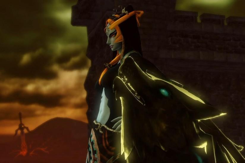 Hyrule Warriors - Twili Midna Gameplay