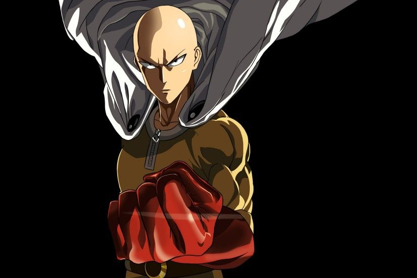 Saitama One Punch Man Marvelous Anime Halloween Wallpaper